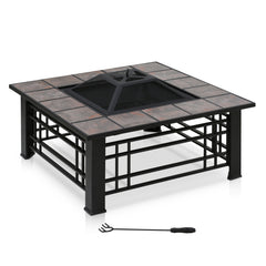 Furinno Outdoor Square Fire Pit FPT17010
