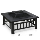 Furinno Outdoor Square Fire Pit FPT17039