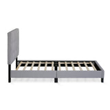 Furinno Button Tufted Bed Frame FB17020T-GL
