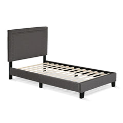 Furinno Double Row Nail Head Bed Frame FB17023T-ST