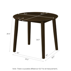 Furinno Dropleaf Table FKDR196-T1