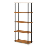 Furinno 5-Tier Multipurpose Shelf 17091LC/BK