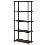 Furinno 5-Tier Multipurpose Shelf 17091BE/WH
