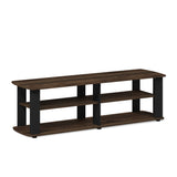 Furinno Entertainment Center TV Stand 11191DBR