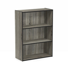 Furinno 3 Tier Open Shelf 11208GYW