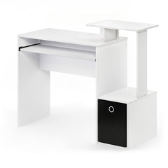 Furinno Computer Writing Desk 12095WH/BK