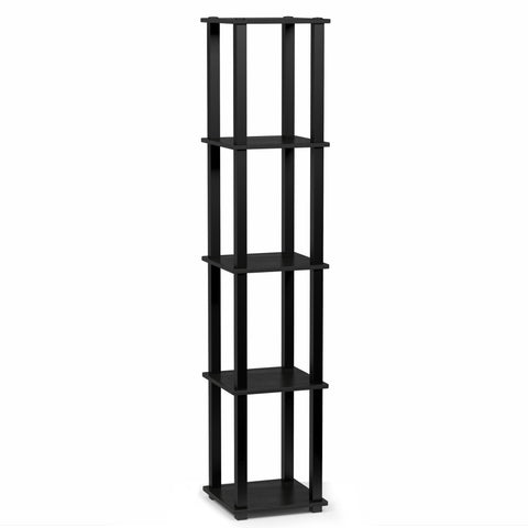 Furinno 3-Tier Multipurpose Shelf Display Rack 18026AM/BK