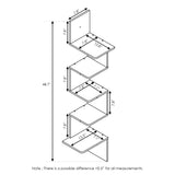 Furinno 5-Tier Shelf FR18046EX
