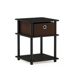 Furinno 3-Tier End Table 18063EX/BK/DBR