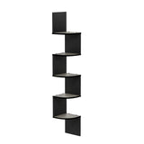 Furinno 5 Tier Corner Shelf FR16122EX