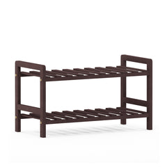 Furinno Pine Solid Wood 2-Tier Shoe Rack FNCJ-33040EX