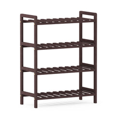 Furinno Pine Solid Wood 2-Tier Shoe Rack FNCJ-33042EX