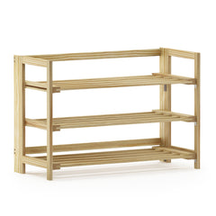 Furinno Pine Solid Wood 2-Tier Shoe Rack FNCJ-33044N
