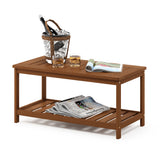 Furinno Coffee Table with Shelf FG18508