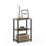 Furinno 3-Tier Storage Shelf 18061GYW/BK
