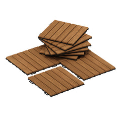 Furinno Floor Wood Tile FG181034