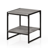 Furinno 2-Tier End Table FM4045ST-2GYW