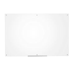 Furinno Glass Dry Erase Board with Marker Tray FGB3959C