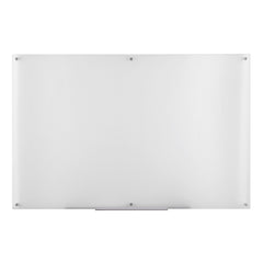 Furinno Glass Dry Erase Board with Marker Tray FGB3959F