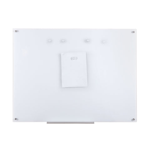 Furinno Magnetic Glass Dry Erase Board FGB3648W