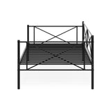 Furinno Metal Daybed and Trundle FDB5007T-BK