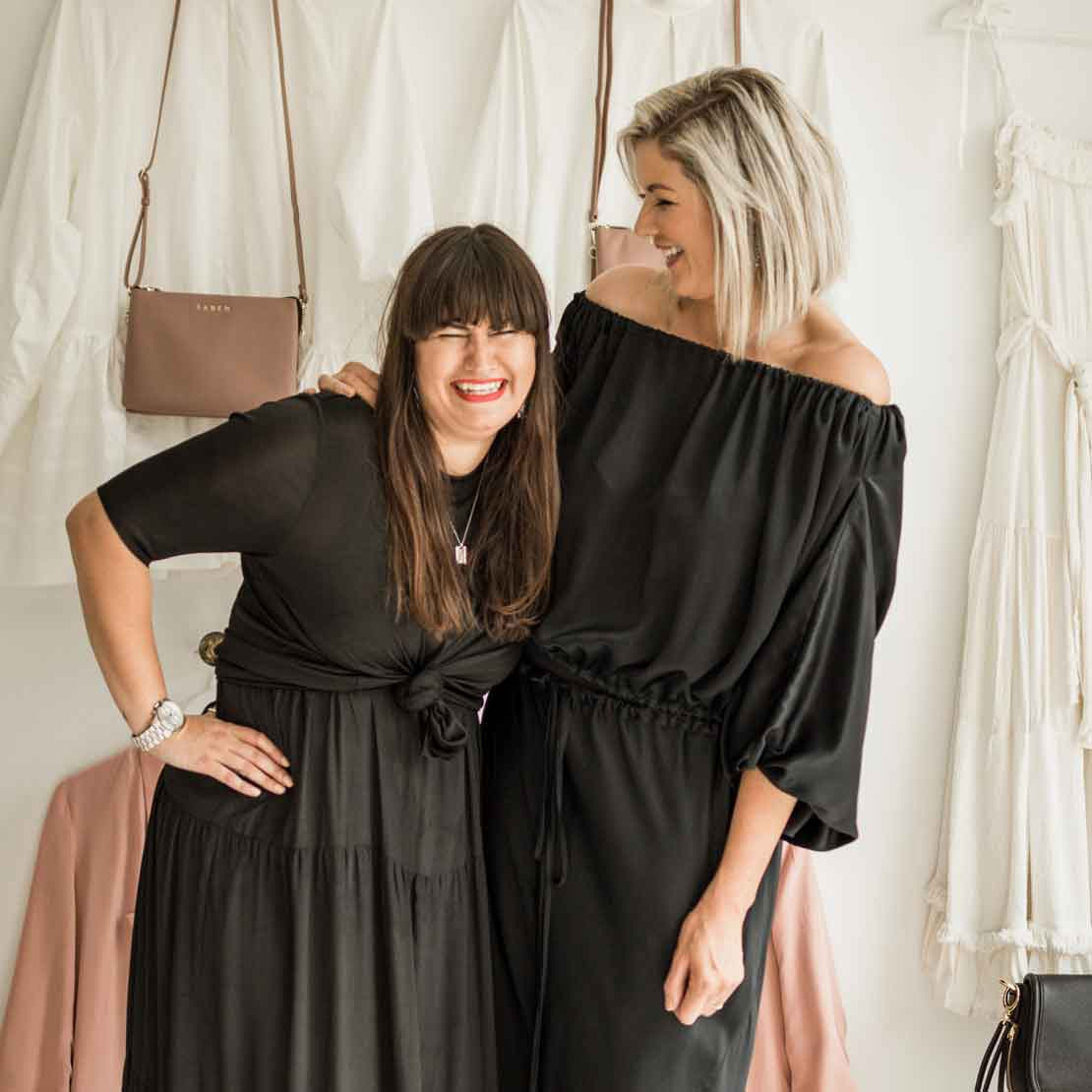 BAZAAR THE EMPIRE | Q&A with Nardine and Hayley