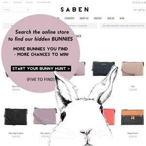 Join our bunny hunt & be in to WIN a Saben Big Sis Tilly!
