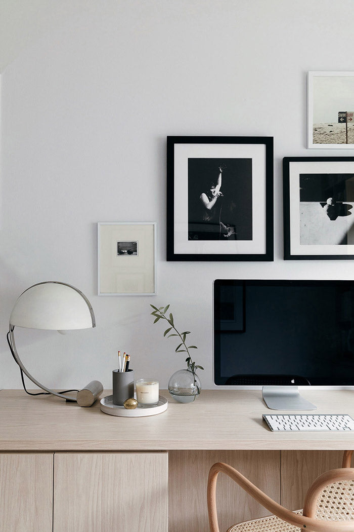 Saben Home Office Inspiration curated by Alana Boradhead. Image from Our Spaces photograohed by Michelle Wier