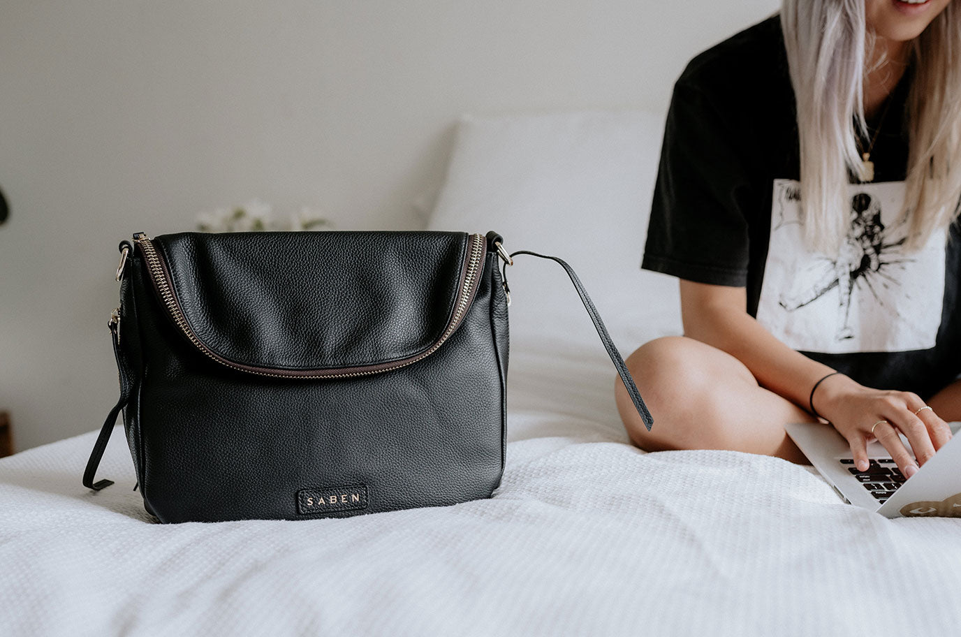 In conversation with Sue Ryu for Mothers Day 2021 for saben handbags