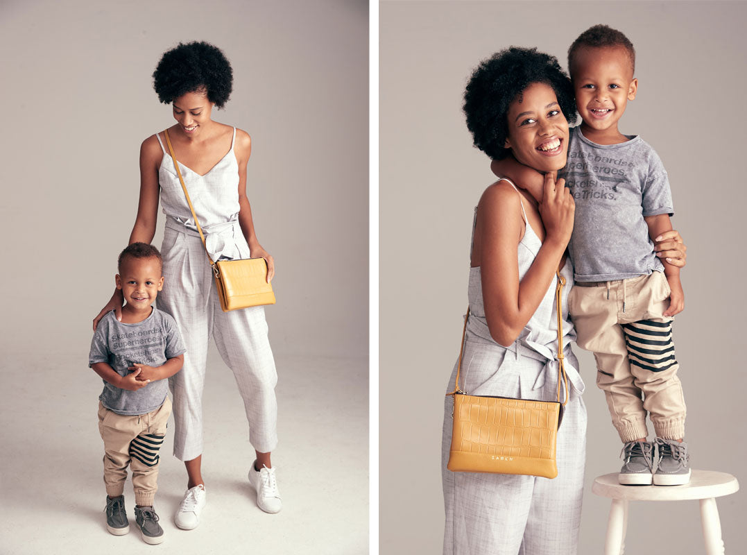 Alarice Stuart for Saben Mothers Day campaign