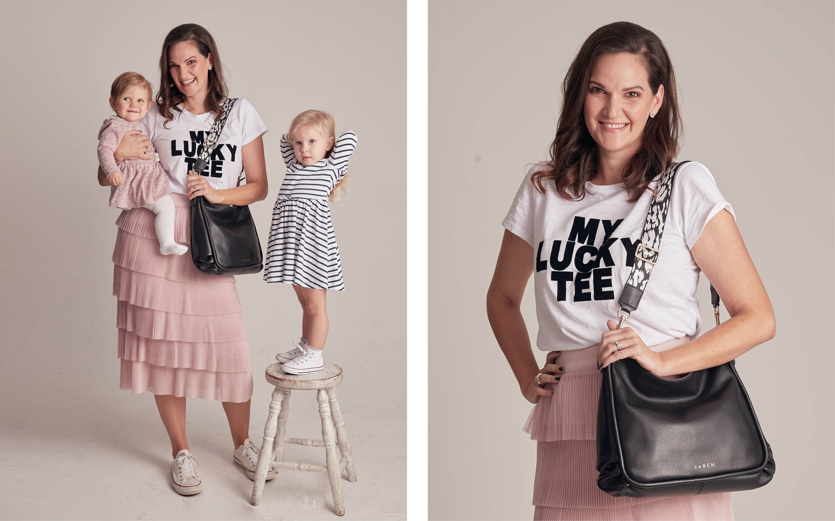 Caitlin Taylor for Saben Mothers Day Campaign