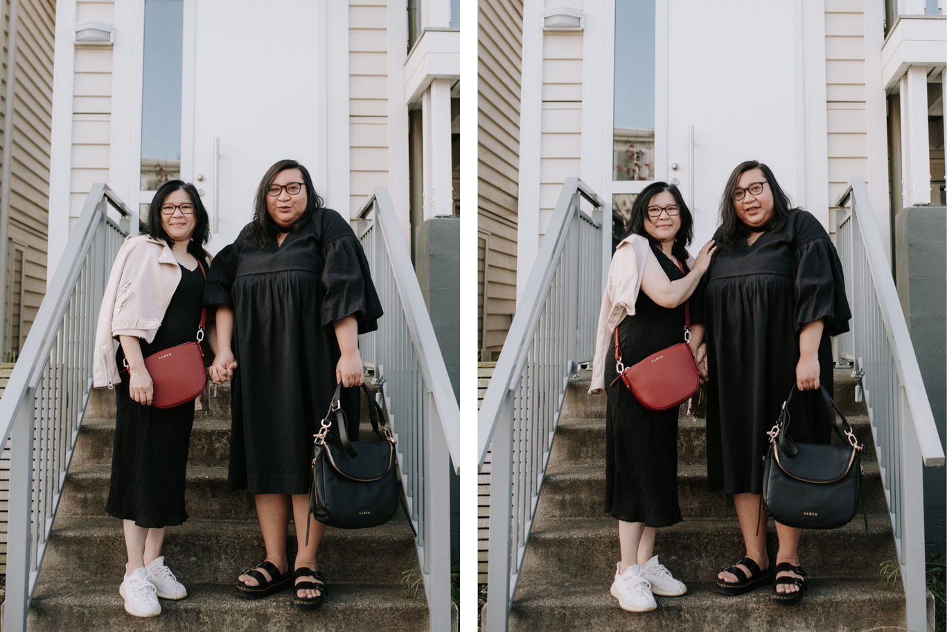 Jess Molina and her mum Florence for Saben Mothers Day campaign 2020