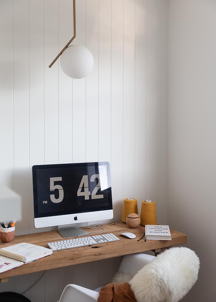 Saben Home Office Inspo curated by Alana Broadhead. Image from Our Spaces photograohy by Michelle Wier