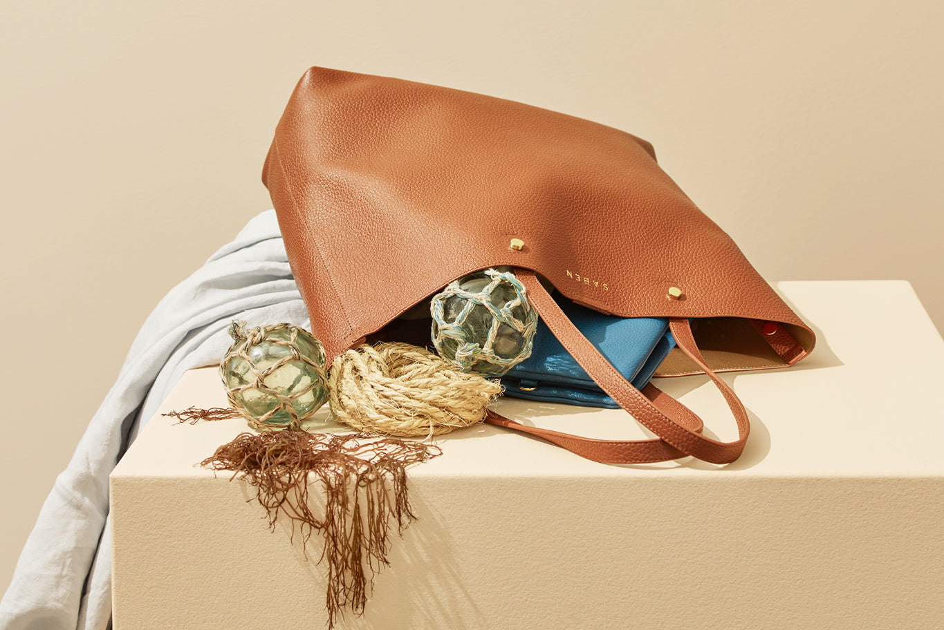 Saben SS20 Vessel collection Carter tote styled by karlya smith photographed by belinda merrie