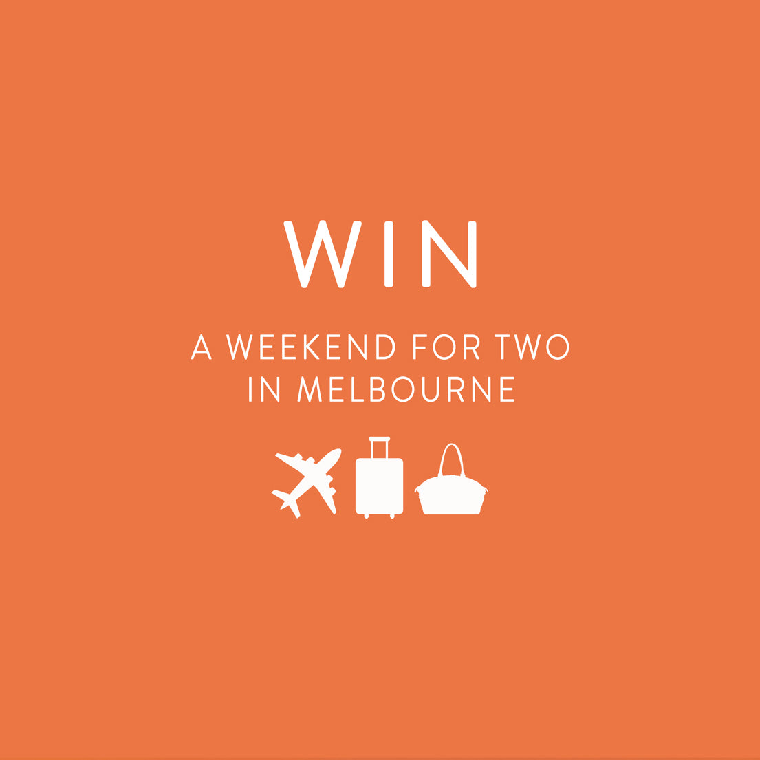 competition artwork win a weeekend for two in mlebourne
