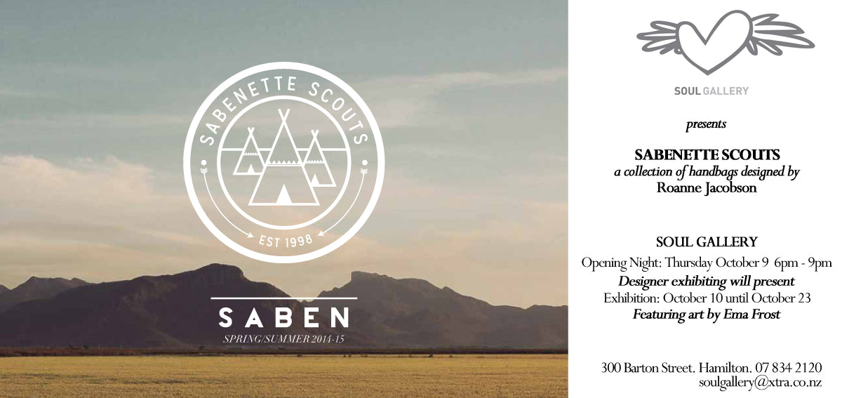 Saben x Soul Gallery Invitation