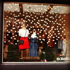 isakelle winter christmas window