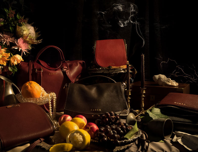 Saben WInter collection vanitas collection image inspired by renaissance