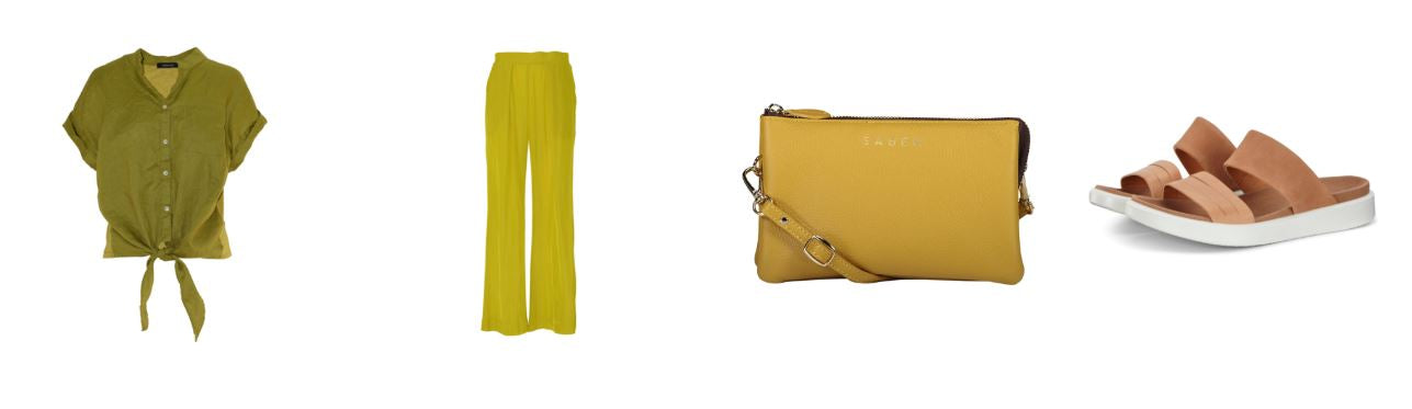 Saben Tilly Crossbody in lemon