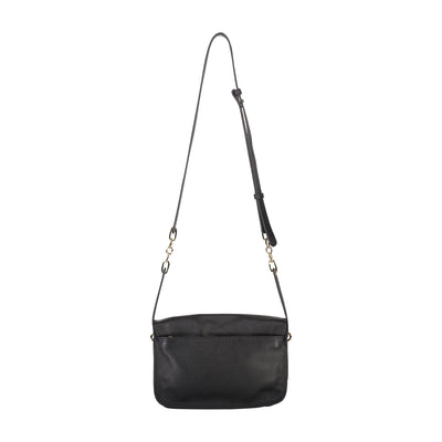 Mini satchel style handbag made with pebble textured leather from Saben designed in New Zealand