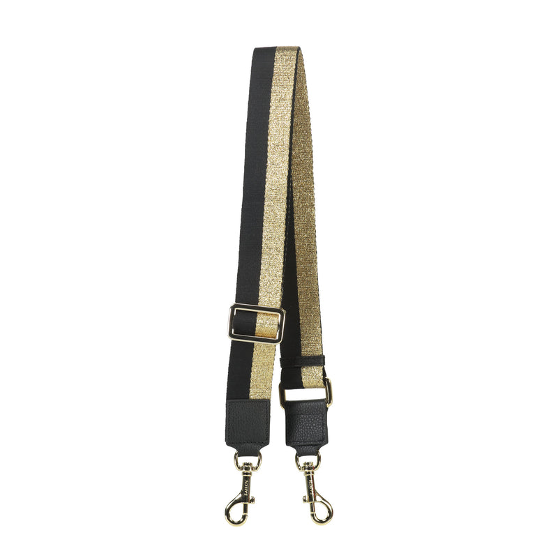 Saben gold feature strap made out of cotton perfect for any handbag designed in New Zealand