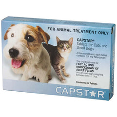 CAPSTAR Flea Treatment for Small Dogs & Cats
