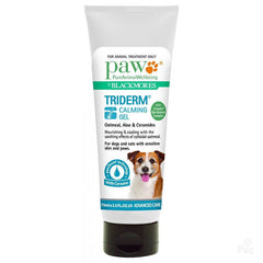 PAW TriDerm Calming Gel for Skin and Paws 75mL