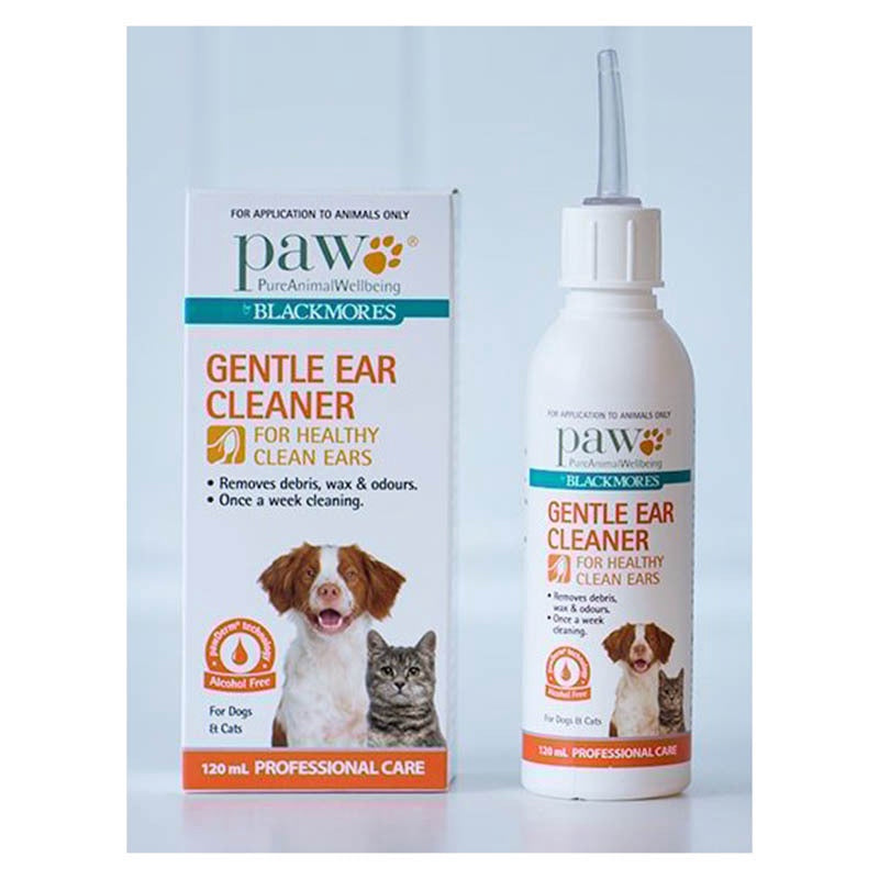 Paw Gentle Ear Cleaner For Cats And Dogs 120ml Pet Supplies