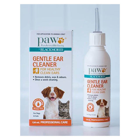 PAW Gentle Ear Cleaner for Cats and Dogs 120mL