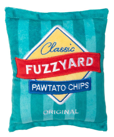 Fuzzyard Dog Toy Pawtato Chips