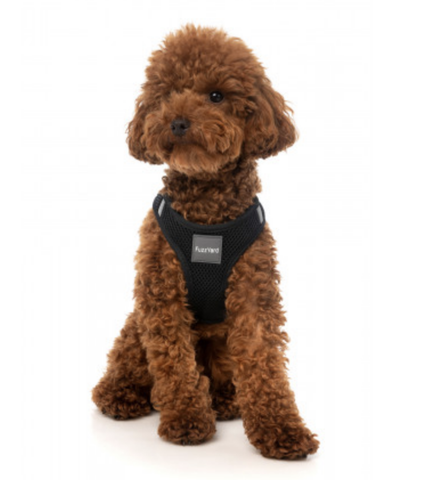 Fuzzyard Step In Harness Swat Harness Black