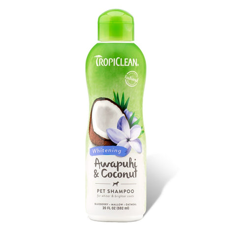 Tropiclean Awapuhi and Coconut Whitening Shampoo 355mL