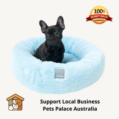 Dog Bed Cat Bed Eskimo Blue Small