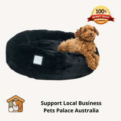 Dog Bed Cat Bed Eskimo Black Small
